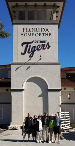 2019 : Detroit Tigers Practice Games Start in Leland, Florida
