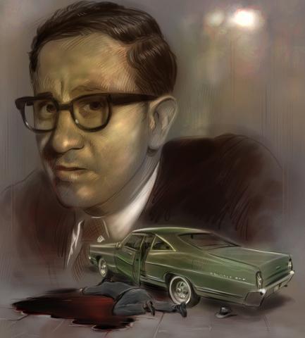 1970 : Michigan Civil Rights Commissioner Assassinated