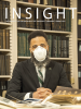 Cover of Spring INSIGHT featuring Professor Pero Dagbovie